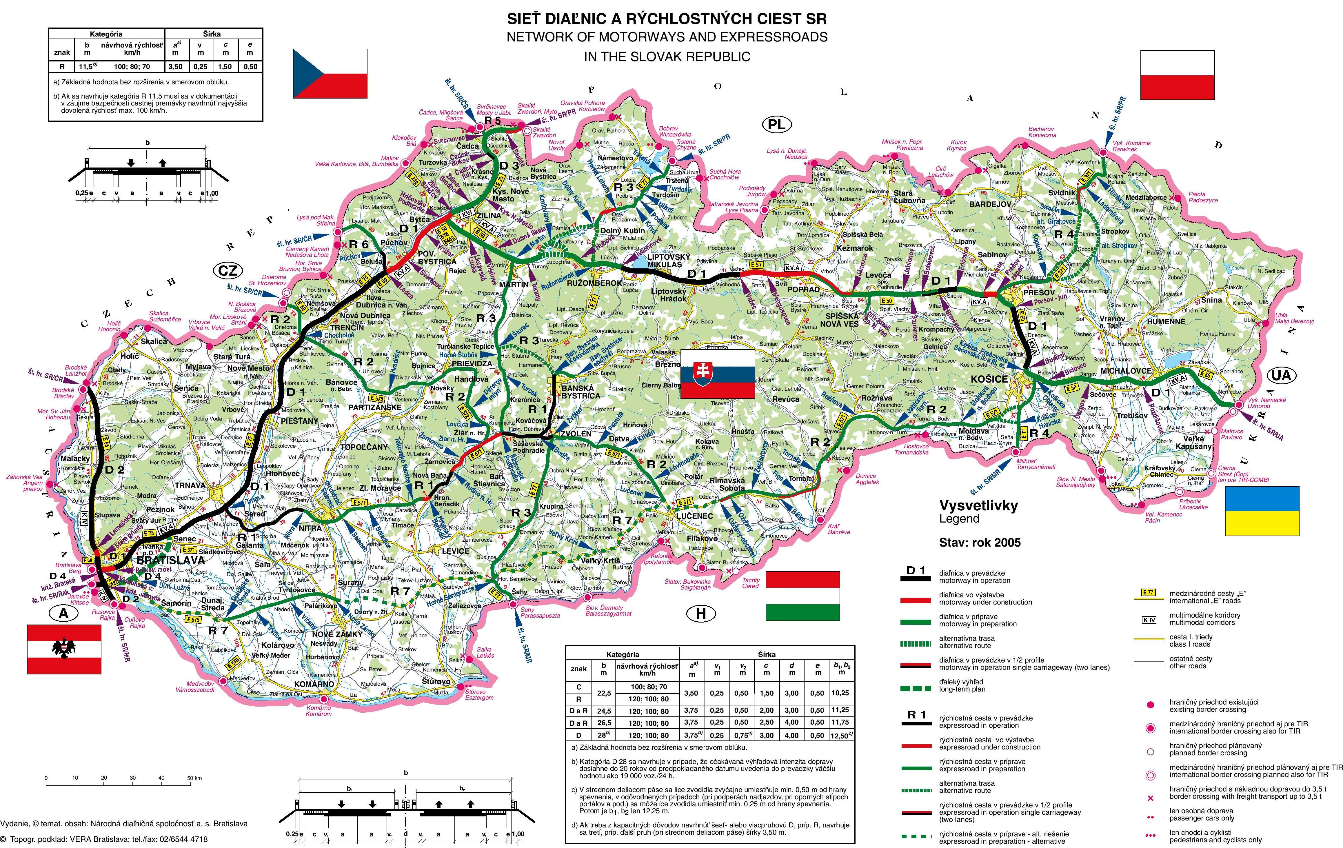 d02fb562abb1 Mapa  Mapa diaľnice D1